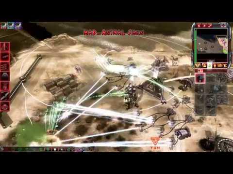 (King Of King's) CnC Kane's Wrath One Vision Mod 1vs3 ,MoK vs Reaper-17 Comp Stomp #20 HD