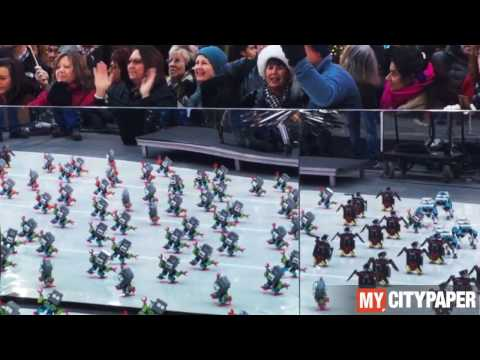 Jimu Robots synchronized dancing to C+C Music Factory - Gonna Make You Sweat