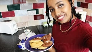 የቸኮሌት እና ለውዝ ብስኩት አሰራር   How To Make Chocolate and Almond Biscuits