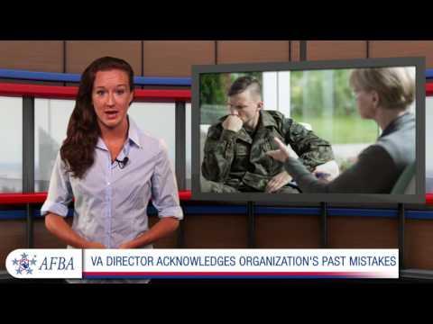 VA director acknowledges organization's past mistakes
