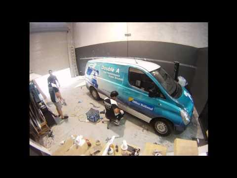 Van Wrap for Double A Paper, By Face it Graphix Australia