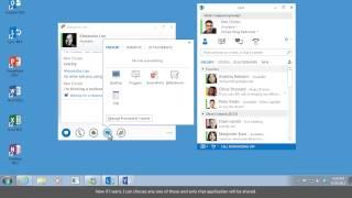 Share Your Desktop in Lync