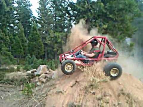 Honda Odyssey Go Kart >> 85 Honda FL350 Odyssey off road go-cart high center - YouTube