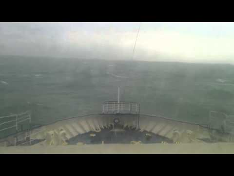 Rough Irish Sea