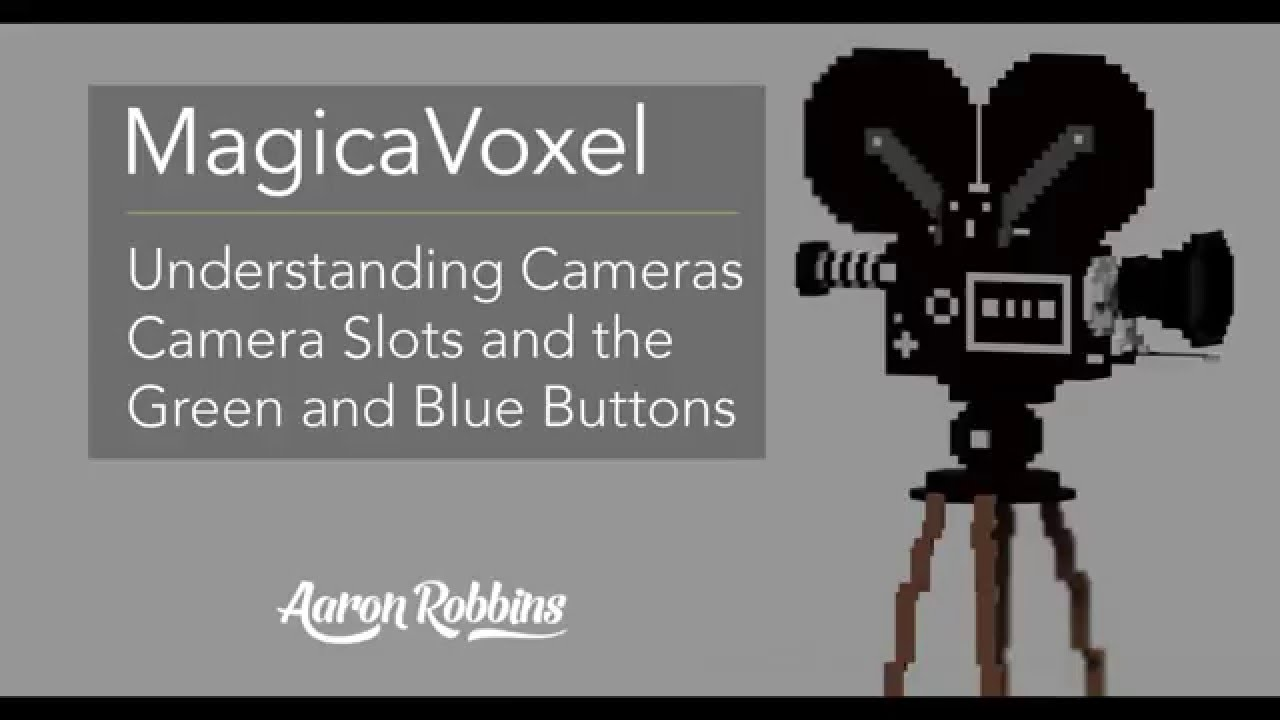 MagicaVoxel - Save Camera Slots, Camera Types and Camera Ruler Snap -  YouTube