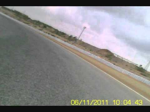 Circuito de Cartagena, on-board BMW K 1200 R Sport.wmv