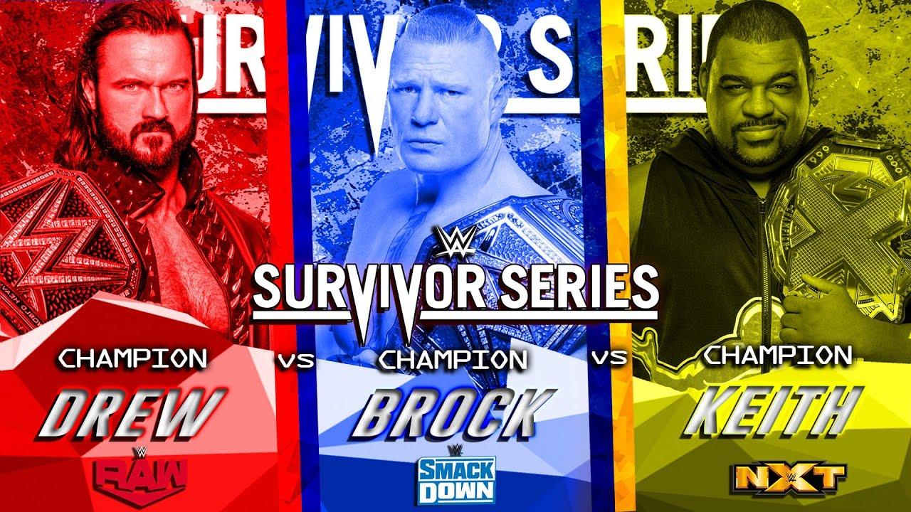 WWE Survivor Series 2020   Dream Match Card