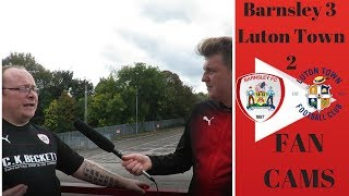 Barnsley 3 Luton Town 2 | Great Performance In Front Of Sky Camera's! | Gareth