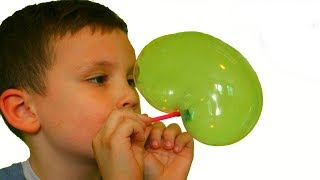 Пузыри из тюбика. Надуваем пластиковые пузыри Bloonies