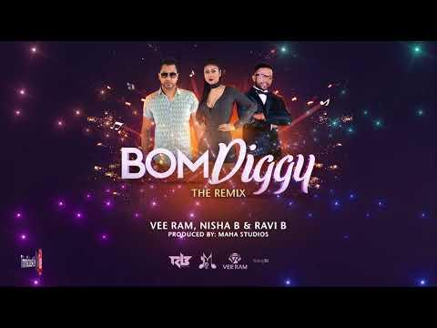 Vee Ram, Nisha B. & Ravi B - Bom Diggy [ 2k18 Bollywood Remix ]