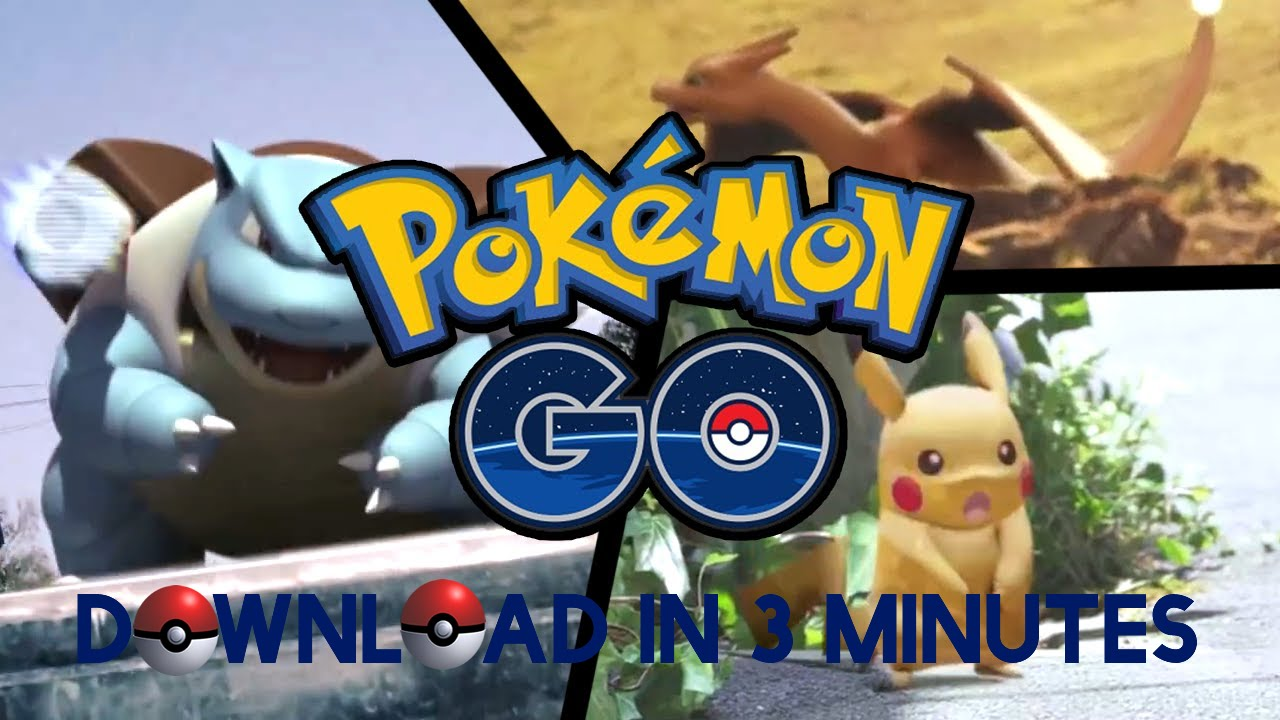 Download Pokemon Go in 3 minutes ! [NO ROOT / REGION LOCK]