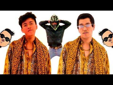 🍎PPAP vs Gangnam Style vs Harlem Shake🍍  (PARODY) | Smith
