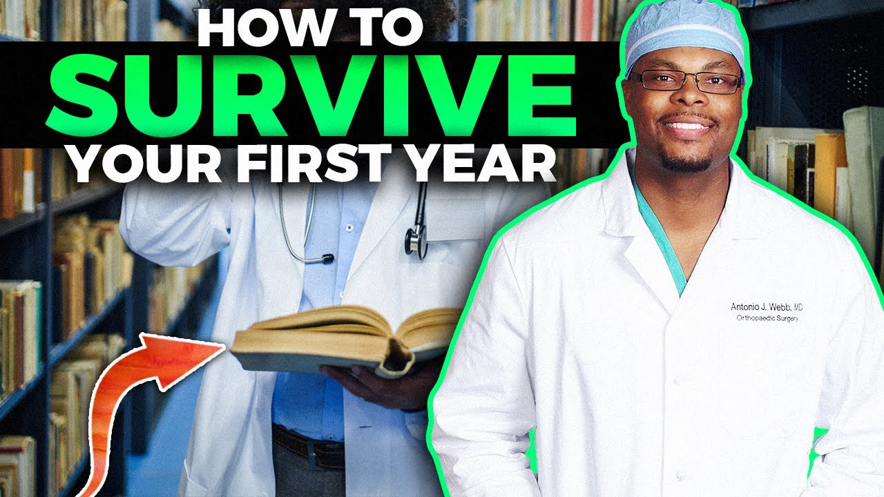 How to survive 1st year of medical school!