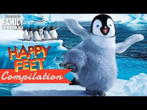 HAPPY FEET | All The Best Clips and Trailer Compilation - An