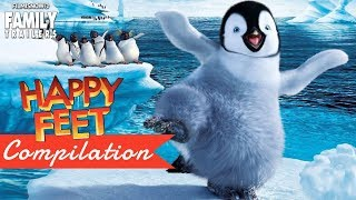 HAPPY FEET | All The Best Clips and Trailer Compilation - Animated Family Movie