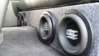 "How to Build a box for 4 8"" Subwoofers in a Silverado"