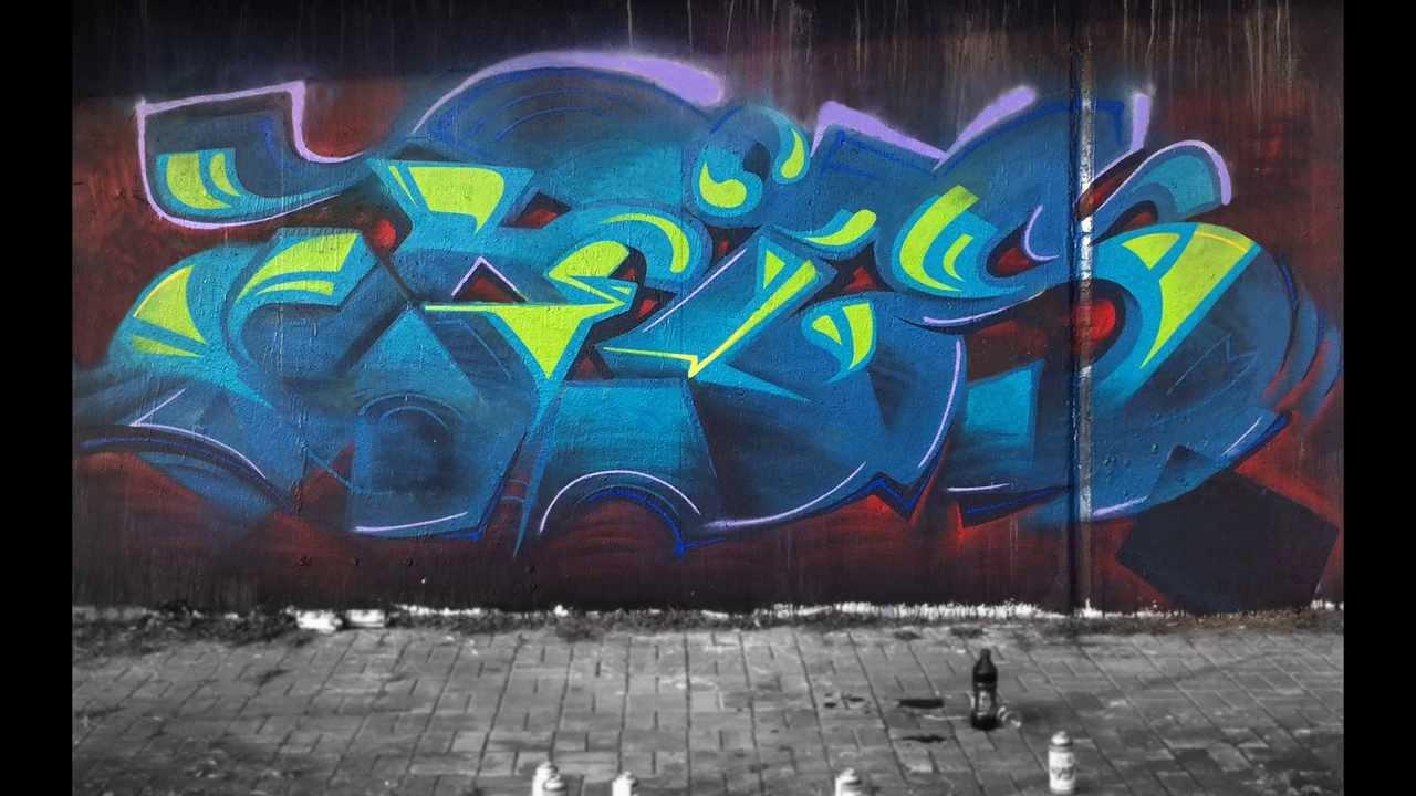 Graffiti Animation Cels Graffiti Animation Test1 Youtube