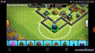 Base th11 2018 Clash of Clans