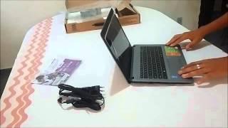 notebook positivo premium xr9430 1tb hd 8gb ram i7 unboxing