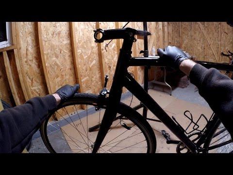 How To Install Threadless Stem, Cables, Bullhorn Handlebars Bike Blogger