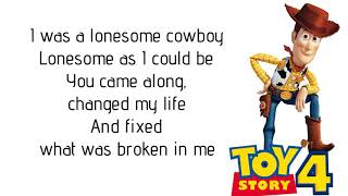 """Chris Stapleton - The Ballad Of The Lonesome Cowboy (Lyrics) [from """"Toy Story 4"""" Soundtrack]"""