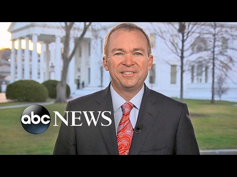 Mick Mulvaney discusses President Trump