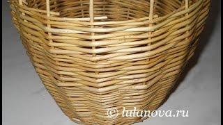 Послойное плетение Боковое в 1 прут - Layerwise weaving Side 1 rod
