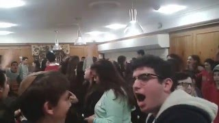 Ruach at mealtimes on Sinai winter camp 2015