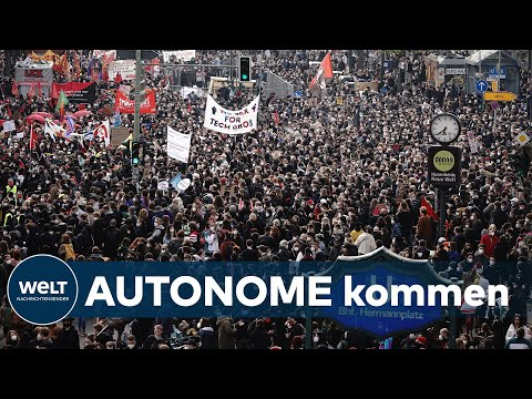 REVOLUTIONÄRE 1. MAI-DEMO: Innensenator -  10 000 Demonstranten in Berlin erwartet | WELT Thema