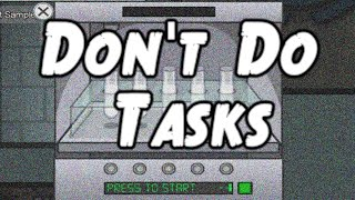"""Don't Do Tasks"" Among Us Horror Story"