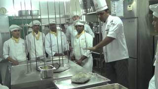 Tandoor Practicle-By One and Half year craft course certificate in Food production-2014 @ CAI