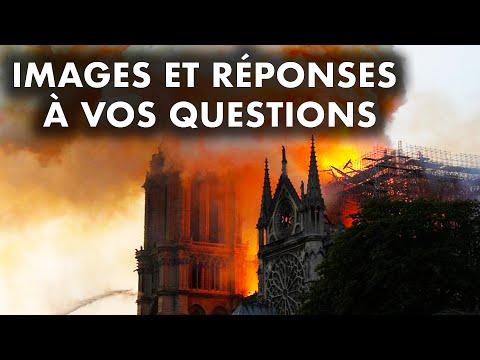 """NOTRE DAME : """"incendie volontaire"""", canadair, dégâts... La vidéo pour répondre à vos questions"""