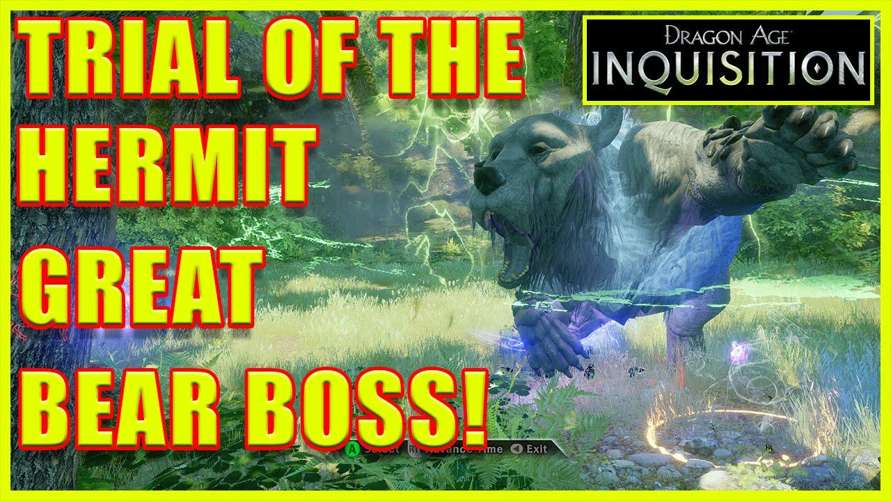 Dragon age inquisition bear hide farming