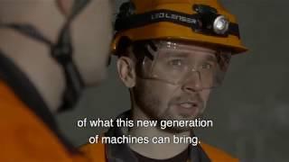 Byrnecut Partnership Digital Driller | Sandvik Mining and Rock Technology