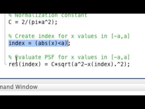 "Inverse Problems Lecture 4/2017: building a ""continuum"" convolution model, part 1/2"