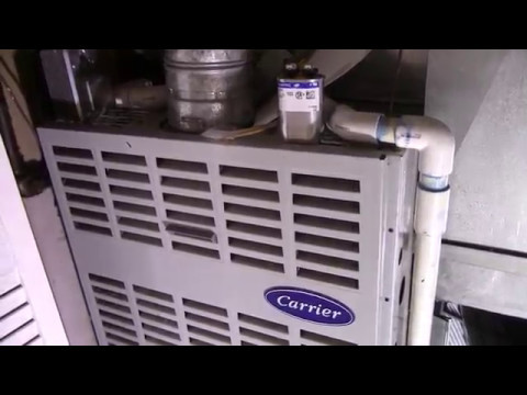 Carrier Furnace Blower: Starter Capacitor Replacement