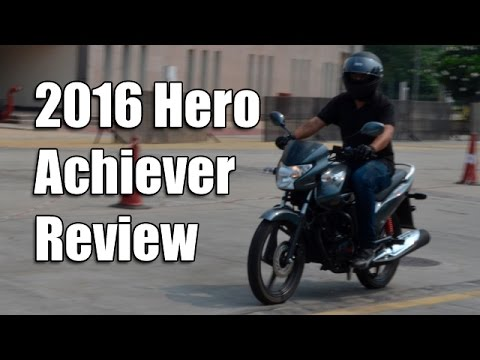 2016 Hero Achiever 150 i3S Review