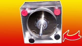 Вечный двигатель из нескольких магнитов и пару брусков железа
