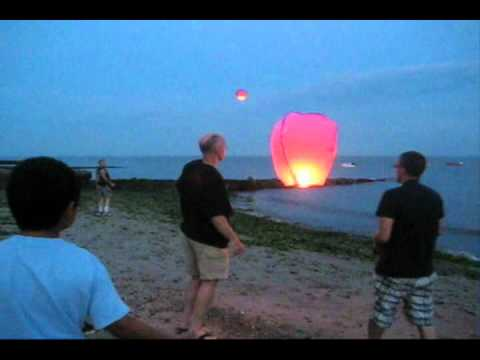 Chinese Lanterns At Hawk's Nest Beach