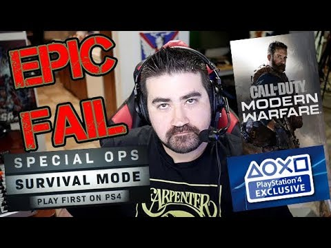 COD: MW Exclusive PS4 Mode & LootBoxes!? - Angry Rant!