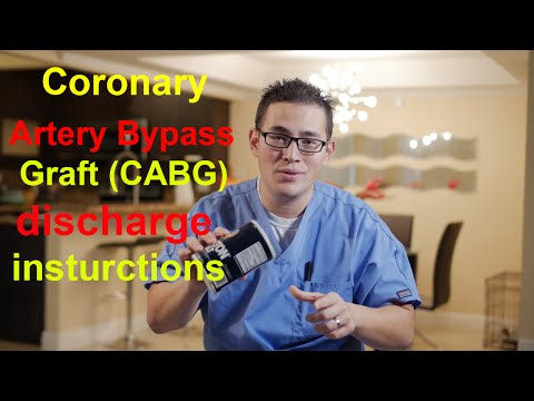 Bypass surgery (CABG) Recovery period I Clerverscrubs