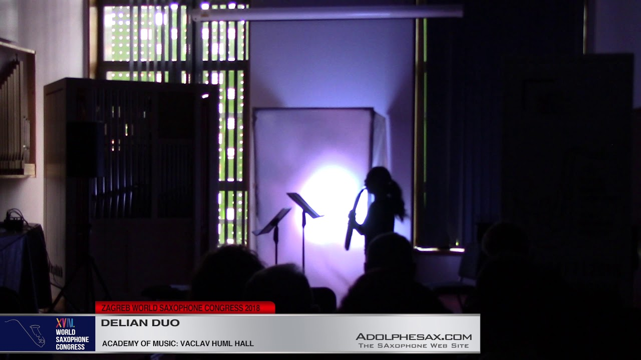 Masked Music by Yukari Misawa   Delian Duo  XVIII World Sax Congress 2018 #adolphesax
