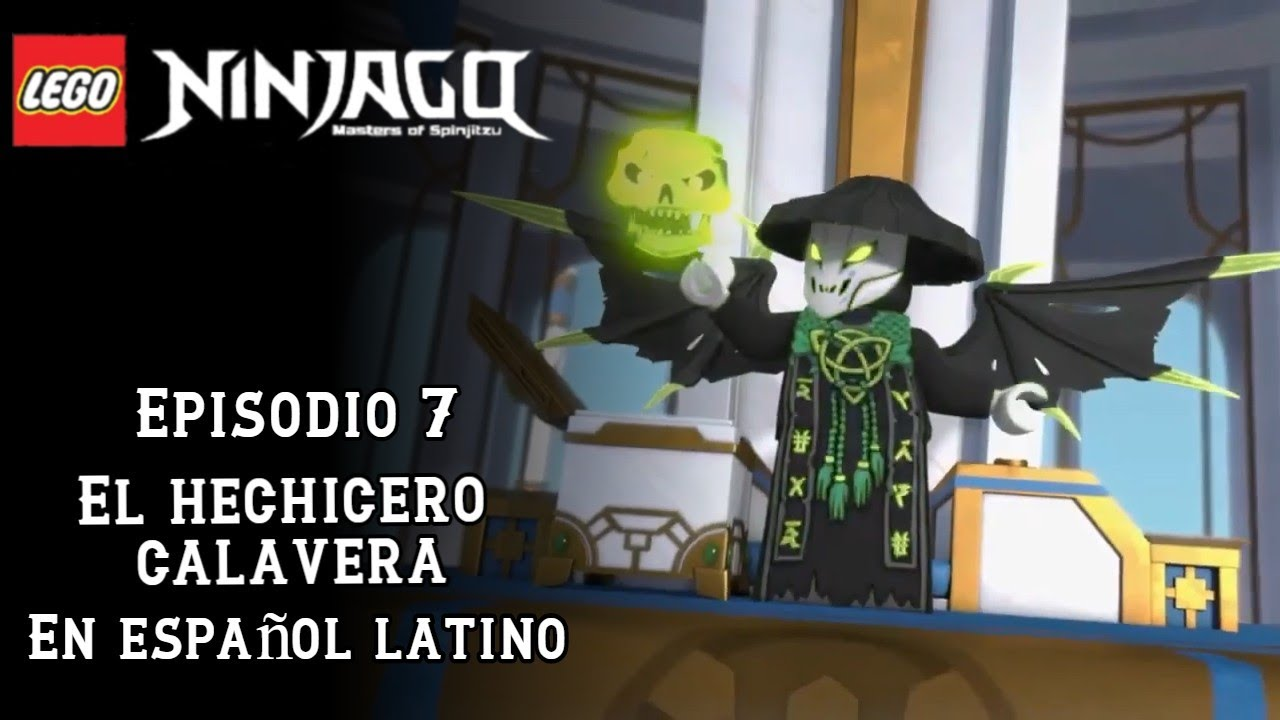 Ninjago - Temporada 13 - Episodio 7 - El hechicero calavera - En Español  Latino HD - En descripcion - YouTube