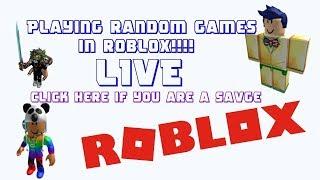 Jouer à Random Games à Roblox!!!!!! #18 rejoignez maintenant!