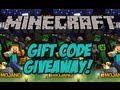 Minecraft - FREE GIFT CODE GIVEAWAY! (OVER)
