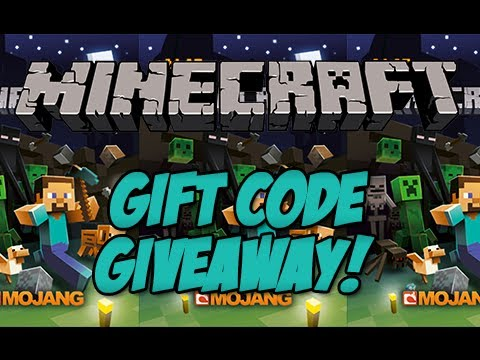 minecraft free gift code giveaway no survey
