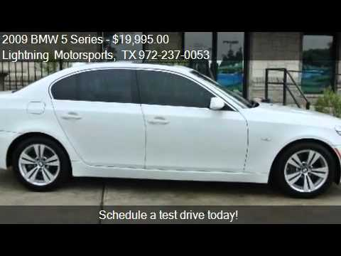 2009 bmw 5 series 528i for sale in grand prairie tx 75051 youtube. Black Bedroom Furniture Sets. Home Design Ideas