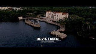 Vizcaya Museum and Gardens Miami Wedding 4k Olivia and Oren