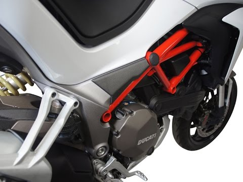 Carbon Frame Cover 034mt For Ducati Multistrada 1200 2015 By