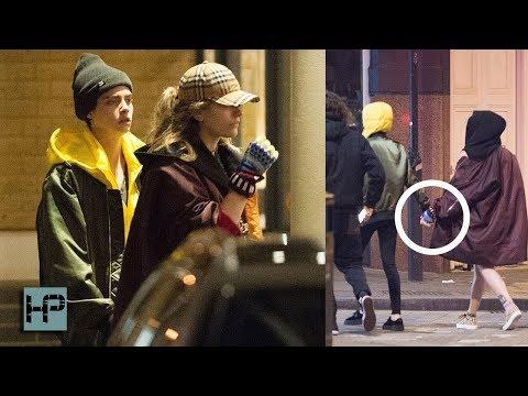 Paris Jackson and Cara Delevingne Dating?!?!!